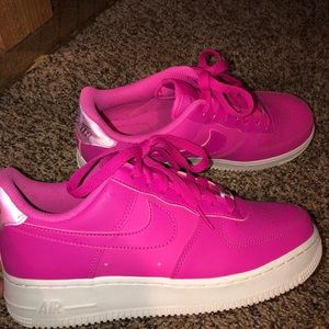 Nike Shoes - Pink Air Force 1s